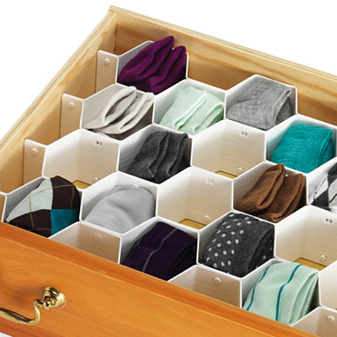 honeycomb-drawer-organizer